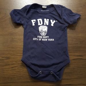 🚒 NY Fire Department Onsie 🚒